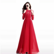 Vestido Largo Elegante Moderno Fiesta Envío Gratis 2560