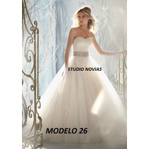 Vestidos Novia Baratos Nuevos Sirena Princesa Ivory Blanco