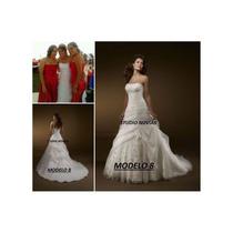 Vestido De Novia Nuevo Barato Bonito Elegante Blanco Mod 8