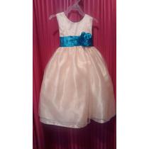 Hermoso Vestido De Fiesta Para Niña Talla 2