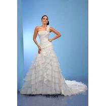 Vestido De Novia Talla 2 Casa Iza A 12 Meses Sin Intereses