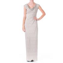 Envio Gratis Vestido Noche Largo Maxidress Ralph Lauren 14