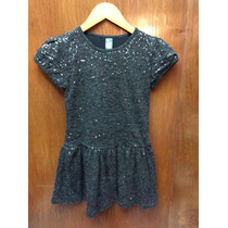 Vestido Casual Niña Zara Lentejuelas Blusa Bolsos Faldas