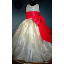 Vestido De Paje Pajecita Para Niña Tipo Tutu Color Coral