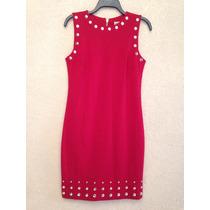 Hermoso Vestido Rojo Mk Michael Kors 100% Original