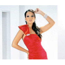 Vestido Rojo D Fiesta X Limpia Fdp Envio Gratis Sp0