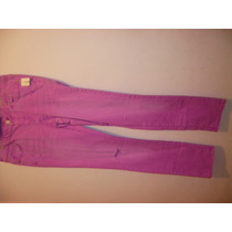 Pantalon Aeropostal Lila Skinny (m127)