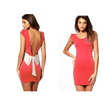 Vestido Paprika Asos Espalda Descubierta Moda Europea Vbf
