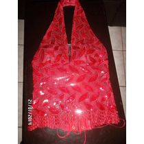 Hermoso Corset Color Cereza Encaje Bordado, Super Oferta!!