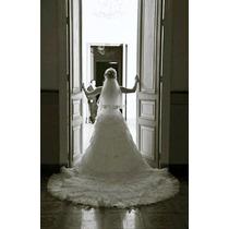 Hermoso Vestido De Novia Del Diseñador Eduardo Nieves