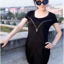 Vestido Bluson Corto Casual Moda Japonesa 363