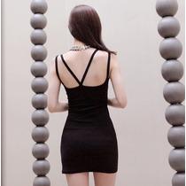 Vestido Corto Casual De Temporada Primavera Verano Sexy 556