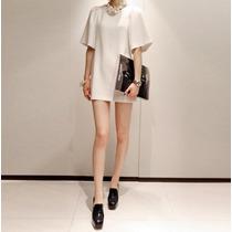Vestido Bluson Corto Elegante Casual Tipo Moda Japonesa 775