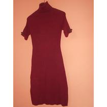Moda Internacional***vestido Color Vino Talla S***