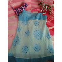 Victorias Secret The Print Blue Vestido Para La Playa Sz S