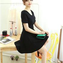 Vestido Corto Casual Juvenil Moda Japonesa Asiática 2181