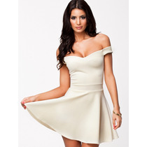 Vestido Sexy Tirantes- Media Blusa Blanca 031-b