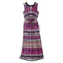Hermoso Maxi Dress Vestido A Rayas Talla Extra Xl 1x