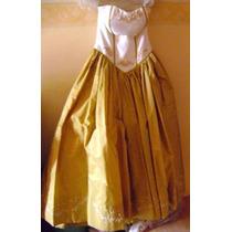 Vestido Straple Largo De Noche, Fiesta, Xv Años Boda Talla 9