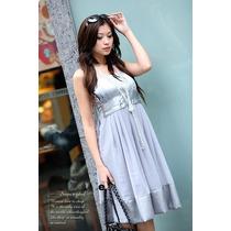 Eisuku 30704 Vestido Chiffon Corte Princesa Moda Asia $509