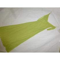 Vestido De Cocktel Largo, Color Verde, Talla M, Maa