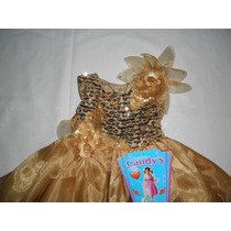 Vestidos Largo Fiesta Para Niña Talla 4 - 5 Años Nuevos