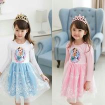 Disfraz Frozen Princesa Elsa Ana Vestido Niña Disney
