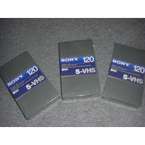 S-vhs Sony 120 Super Vhs Nuevo 190 Cada Uno Cerrados Adat
