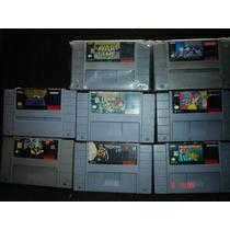 Super Nintendo Variedad En Titulos Parte 5 C/u