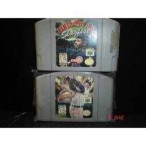 Nintendo 64 Ken Griffey Jr Major League Baseball Y Slughest
