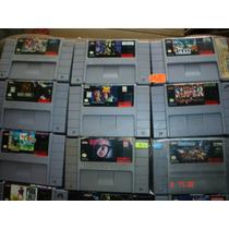 Super Nintendo Variedad En Juegos Parte 3 Mas De 50 Titulos