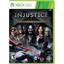 °° Injustice Ultimate Edition Para Xbox 360 °° En Bnkshop