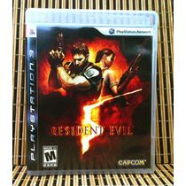 Resident Evil 5 - Ps3 Aventura Survival Horror - Capcom