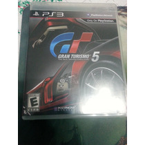 Gran Turismo 5 Playstation 3 Ps3 Seminuevo