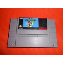 Snes Super Mario World Super Nintendo Cuidado Primer Edicion