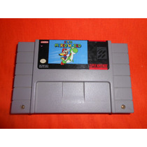 Snes Super Mario World Super Nintendo Impecable