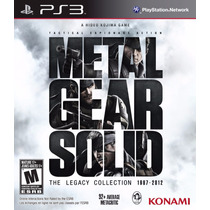 Metal Gear Solid: The Legacy Collection - Playstation 3, Ps3