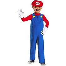 Disfraz De Nintendo Super Mario Brothers Mario Niños Toddler