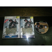 Medal Of Honor Frontline Completo Para Xbox Normal,excelente