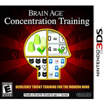 Brain Age Concentration Training 3ds Nuevo Citygame