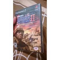 Conflict Desert Storm 2 Back To Baghdad Ps2 Playstation 2