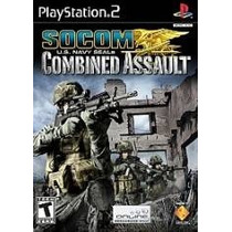 Soccom U.s. Navy Seals Combined Assault Ps2