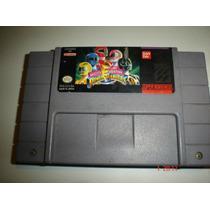 Super Nintendo Mighty Morphin Power Rangers