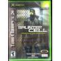 Xbox Splinter Cell Nuevo Dmm