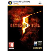 Resident Evil 5 (juego Para Pc) Original Y Nuevo Vv4