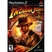 Indiana Jones And The Staff Of Kings Ps2 -- Mannygames