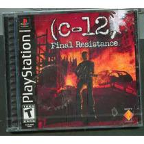 Ps1 C-12 Final Resistance Nuevo Envio Gratis
