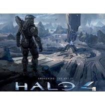 Halo 4 Libro Arte: Awakening: The Art Of Halo 4 De Coleccion