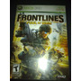 Frontlines Fuel Of War Xbox 360 Guerra Tipo Ghost Recon