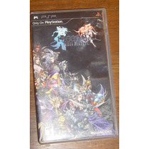 Dissidia Final Fantasy Completo Sony Psp Slim O Fat Cambio